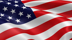 a beautiful satin finish looping flag animation of the usa a