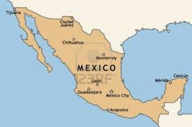 Punta Mita Mexico Map by Mexico Map With Major Mexican Cities Mexico City Guadalajara