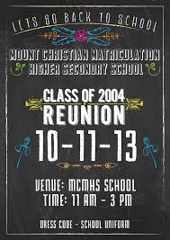 reunion poster on behance