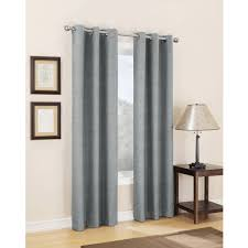 Eclipse Blackout Curtains Walmart Sun Zero Caleb Linen Texture Thermal Insulated Energy Efficient
