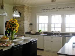 Modern Beachy Interiors Beach Kitchen Ideas Kitchen Beach Style With Floating Shelves