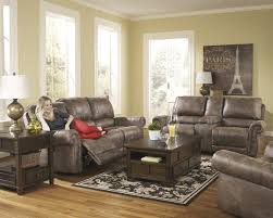 Power Reclining Sofa And Loveseat by 741 Series From Ashley Reclining Sofa Loveseat And Swivel Rocker