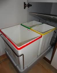 m lleimer k che ausziehbar 3 fach küchen einbau abfalleimer electa2 1x 16 liter und 2x 7 5