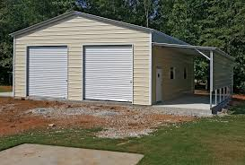 two car garage with carport house plans
