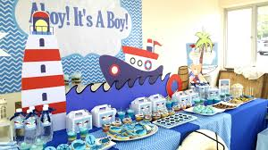 nautical baby shower ideas nautical baby shower decorations for boy baby showers ideas
