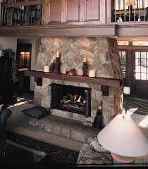 fieldstone fireplaces home decor