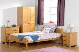 bedroom furniture sets of 2 door wardrobe bedside and chest of