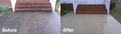 How To Clean Colored Concrete Patio Brick U0026 Concrete Cleaning