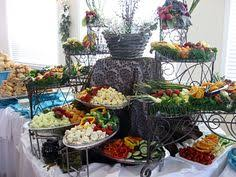 food tables at wedding reception food tables for a backyard reception snack table wedding