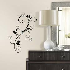 roommates mickey and friends peel and stick wall decals rmk1507scs scroll sconce peel and stick wall
