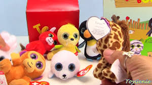 2017 teenie beanie boo u0027s mcdonald u0027s happy meal toys