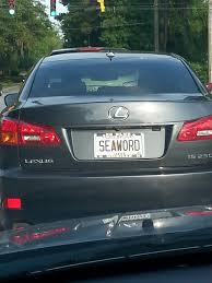 lexus meaning funny 20 says you can u0027t get the c word on your license plate