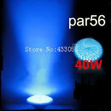 sale led pond lights underwater 40w blue par56 12v swimming