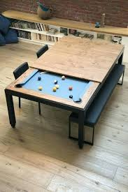 pool table dinner table combo pool table and dining table combo best pool table dining table ideas