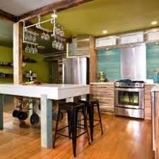 wine rack kitchen island photos hgtv
