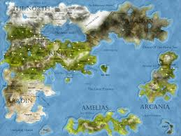 Map Of The New World by The New Map Of My World More In Comments Worldbuilding