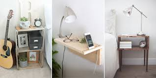 Design For Oval Nightstand Ideas 10 Diy Bedroom Nightstand Ideas