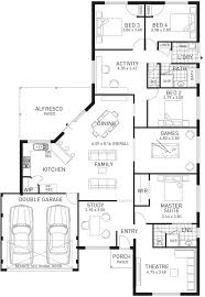 the luxe modern four bedroom home design domain by plunkett
