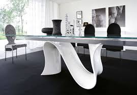 contemporary glass dining room tables 15942