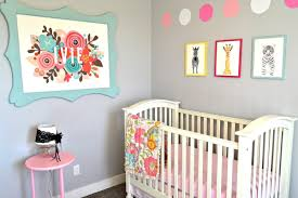 baby girl nursery wall art lou lou girls baby girl nursery wall art