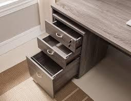 Grey Filing Cabinet Bravia Rustic Grey Home Office Desk