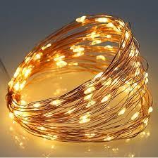 warm white light 5v 6w 10m copper wire 100 leds usb decoration