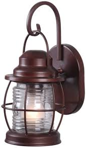 Home Decorators Lighting Home Decorators Collection Harbor 1 Light Copper Outdoor Small