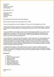 12 cover letter for executive secretary resume basic job
