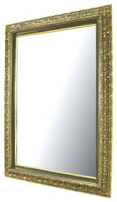carved and gilt wood style wall mirror for sale at 1stdibs