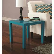 mainstays parsons end table mainstays parsons table teal walmart design related to best