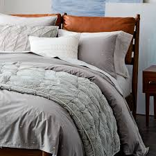 Where Can I Buy Duvet Covers Organic Washed Cotton Duvet Cover Shams West Elm