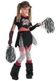alice in wonderland costume spirit halloween kids gothic cheerleader costume