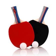Table Tennis New 2 Pieces Set Table Tennis Rackets Ping Pong Paddle Long Short