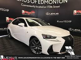 lexus is300 2018 new 2017 lexus is 300 f sport series 2 4 door car in edmonton