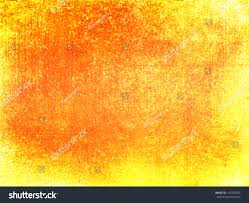 Warm Orange Color Orange Yellow Background Warm Autumn Fall Stock Illustration