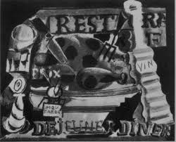 Picasso Still Life With Chair Caning 1912 Ring In The New Year With Picasso And Dalí U0027s Food Related Art