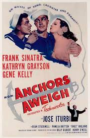 anchors aweigh poster click to view extra large image best