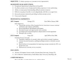 exle resume summary of qualifications awesome and beautiful resume summary exles for customer service 3