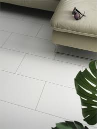 8mm white tile laminate flooring glossy white tile floor