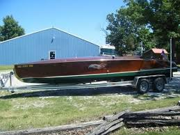 Hacker Craft Ladyben Classic Wooden Boats For Sale Throughout