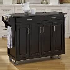 kitchen island with black granite top granite kitchen islands carts you ll wayfair