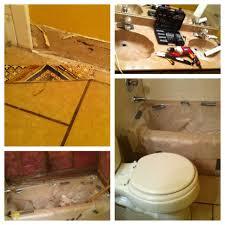 bathroom remodel status complete from 70 u0027s to sleek u2013 dirty
