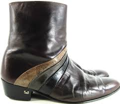mens motorcycle ankle boots stacy adams men ankle boots size 8 5 brown vtg all leather style