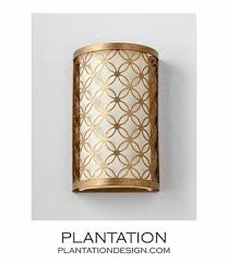 Gold Wall Sconces Iron Wall Sconce I Plantation