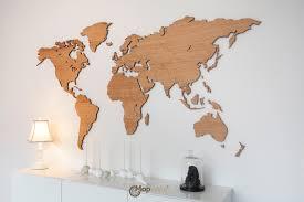 Iceland Map World Wooden World Map Made From Oak Woodenworldmap Com