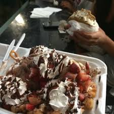 funnel cake house huntington beach funny cakes