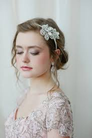 jeweled headbands custom wedding accessories by fleurie jeweled headband