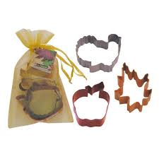 r m international corp 3 thanksgiving cookie cutter set