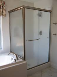 Shower Sliding Door Vision Mirror Shower Door