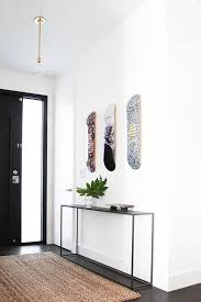 black entry hall table the beach house part 2 black door bulb lights and console tables